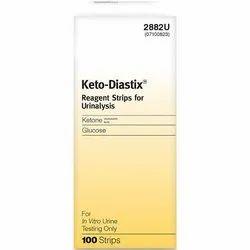 Ketodiastix 50 (Ketone -Glucose)