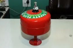 Safety Plus 2 Kg Clean Agent Automatic Modular Fire Extinguisher