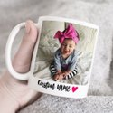 Ceramic White Mug Printed
