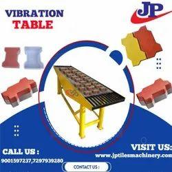 Table Vibrator Paver Block Making Machines