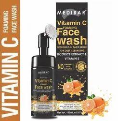 MEDIBAR natural Vitamin C Face Wash 150 ML, Liquid, Age Group: Adults