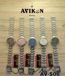Brown Formal Wear Wrist Watch