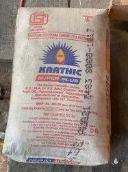 Karthik Superplus Cement, Packaging Size: 50KG