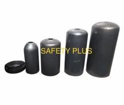 Safety Plus Fire Extinguisher Empty Body Top Bottom With Welding Powder Coating