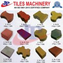 Plastic Automatic Cement Tile Making Machine, For Home