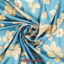 Cotton Satin Digital Printed Fabric