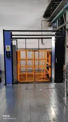 Material Handling Double Mast Goods Lift