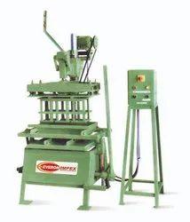 Hand Operated Block Making Machine