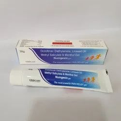Diclofenac Diethylamine Linseed Oil Methyl Salicylate & Menthol Gel