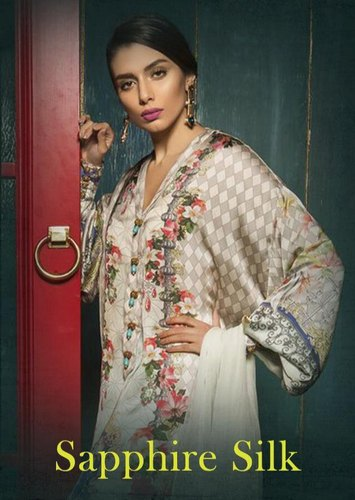 6bc7284dae Wedding Wear Female Deepsy By Sapphire Silk Pure Japan Satin Pakistani Dress