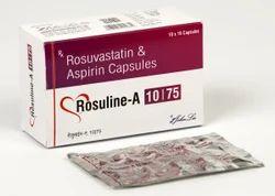 Rosuvastatin Calcium 10/20 Mg Aspirin 75 Mg Capsules