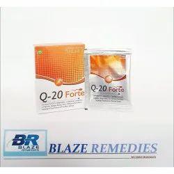 Q 20 Forte, Co-enzye Q10  Lycopene Sachet