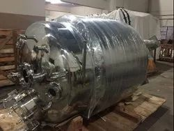 Stainless Steel Reactor, Material Grade: SS-316/SS-304