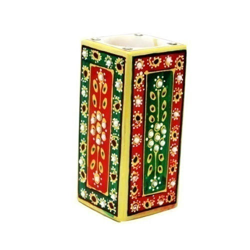 Pen Stand Red Green