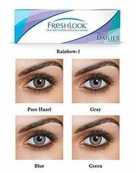 Ciba Vision Daily Wear Soft Freshlook Colorblends One Day Lenses, Packaging Type: Box