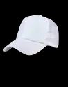 Netted White Mesh Cap