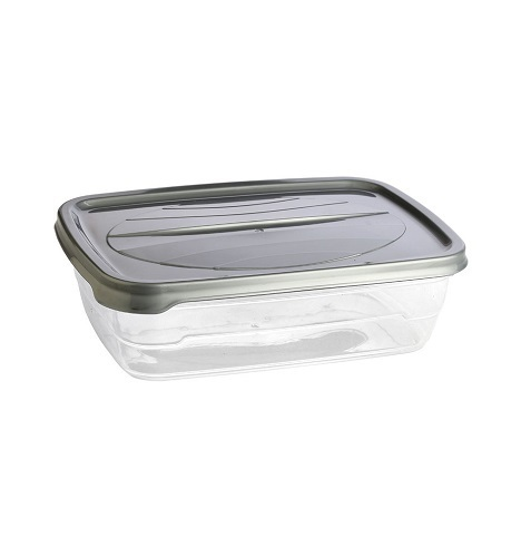 Plain Microwave Safe Plastic Food Container 650ml | ID