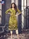 3/4th Sleeve Multicolor Readymade Kurti Collection By Top Dot
