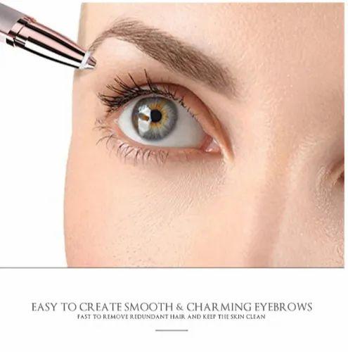 Bioaunt 1pc Electric Eyebrow Trimmer Makeup Painless Eye Brow Epilator Mini Shaver Razors Laser Hair Removal Machine ह यर र म वल ल जर मश न ब ल क हट न क ल जर मश न Astroyou International Kolkata