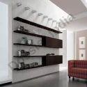 Wooden Wood Wall Display Shelves