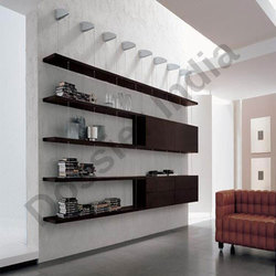 Wood Wall Display Shelves