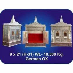9x21x31 Inch German Oxidized Temple