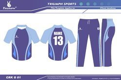 Practice Uniforms For Cricket