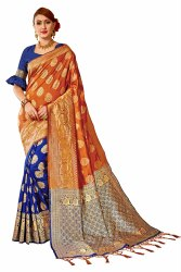 Banarasi Silk Weaving Party Wear Traditional Wedding Wear Saree