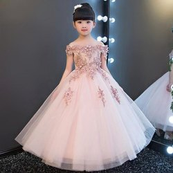 Girls Embroidered Party Wear Frocks