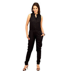 Cottinfab Solid Women's Jumpsuit
