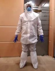 Non Woven PPE Kit with 90 GSM