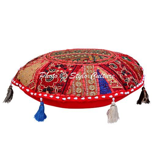 Floor Cushion Covers Indian Floor Seat Cushion Cover Exporter From