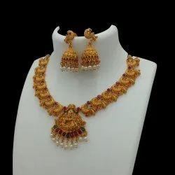 Matte Finish Jewellery Set H5 Ruby