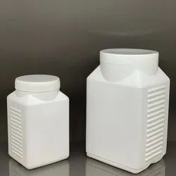 HDPE Ribbed Jar