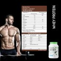 Nutricore Whey Protein Blend Strawberry Milkshake 1 Kg