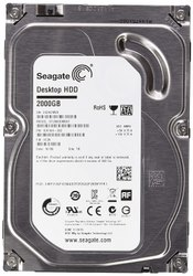 2 TB Seagate Internal Hard Drive