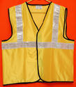 Reflective Vizwear Vests / Jackets 2 Yellow Front Opening  (v-8)