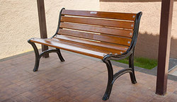 Garden Bench Without Handrest