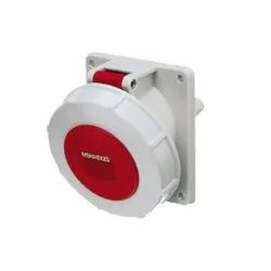 1485 Panel Mounted Industrial Socket Receptacle