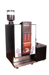 Fresh Milk Bean 2 Cup Coffee Vending Machines