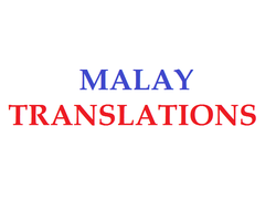 Malay Language Translation