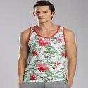 Cotton Grey Men Sleeveless Vest, Size(cm): 80-85 And 95-100