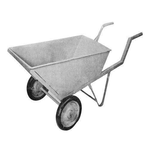 Double Wheel Barrow for Construction Industry