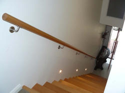Single Pipe Aluminium Railing