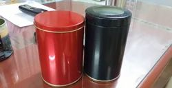 See Through And Normal Tea Tin Container