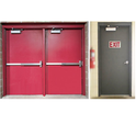 Fire Rated Customized Steel Doors