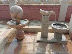 SANDSTONE GARDEN WATER FOUNTAINS