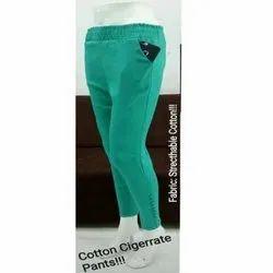 Ladies Cotton Lycra Pants