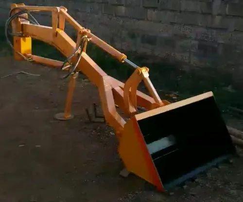 Tractor Attachment -- Front End Loader - Tractor Husk Loader