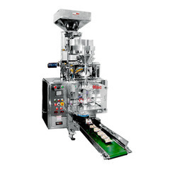 Fully Pneumatic FFS With Collar Type Machine Cup Filler